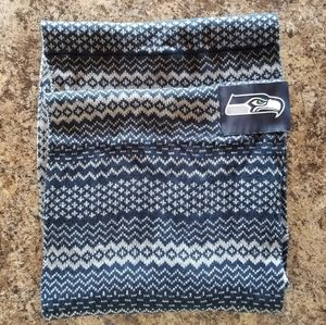 2 knit scarves, Seahawks and Adidas